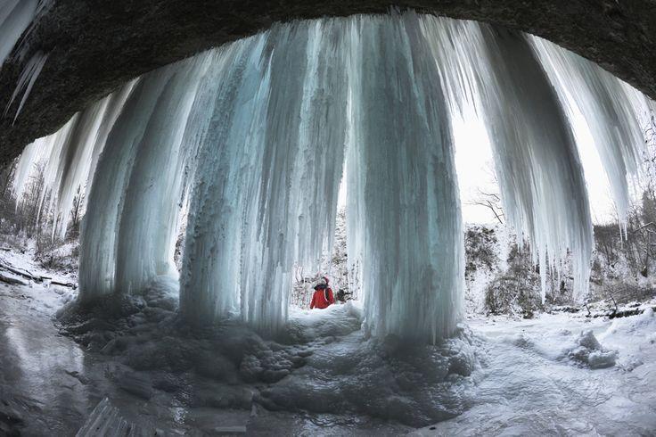 Na Spiši sú nádherné ľadopády. Pozrite si Šikľavú skalu - spis.korzar.sme.sk