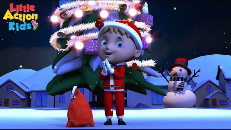 He has a red red coat and a red red hat, his boots are black and he carries a sack... I wonder who this song is about? SANTA CLAUS of course. Join in with the Little Action Kids as they sing and dance along to this fun kids Christmas song.