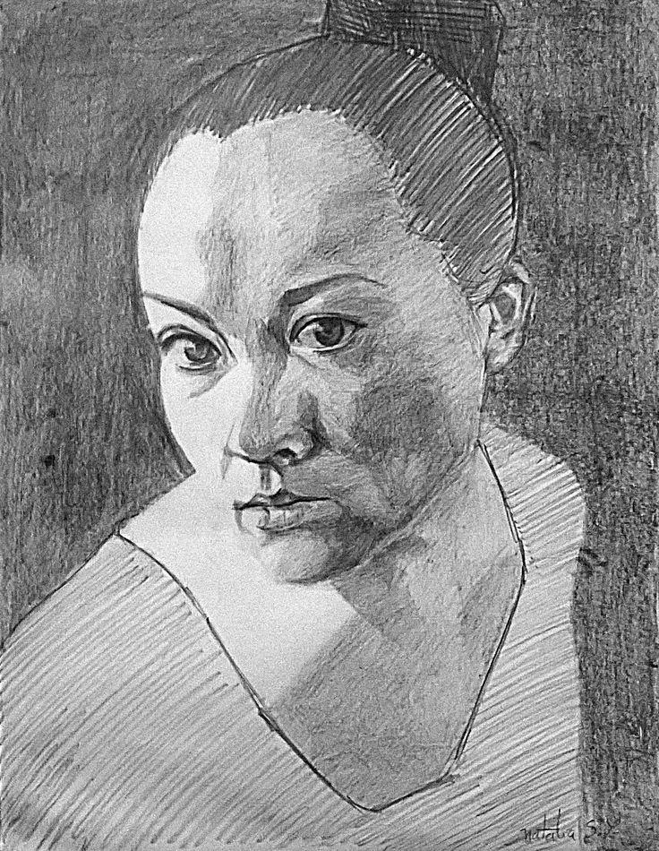 Autorretrato a lápiz #pencildrawing #portrait