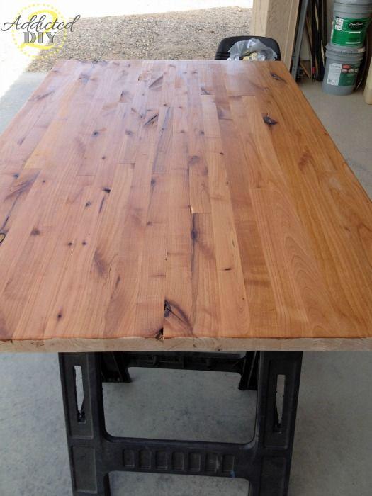best 25 butcher block tables ideas on pinterest block. Black Bedroom Furniture Sets. Home Design Ideas