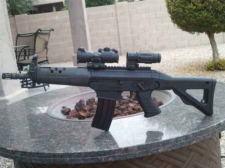 Sig 556 SBR built by Double Diamond Law Enforcement Supply
