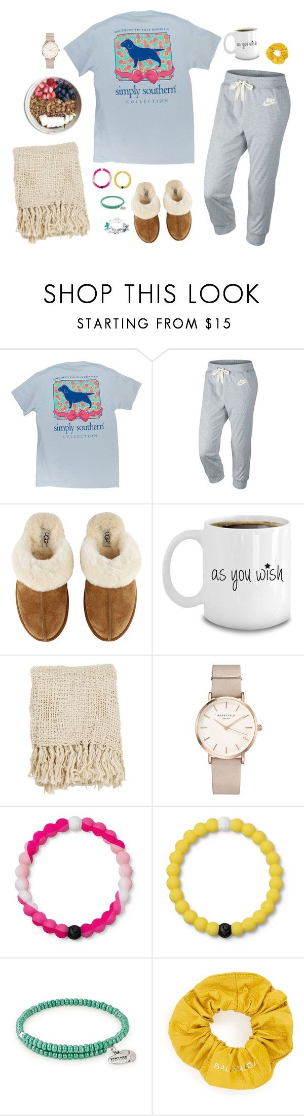 """""""Untitled #616"""" by ellecatherine3 on Polyvore featuring NIKE, UGG, ROSEFIELD, Lokai, Alex and Ani and Balenciaga"""