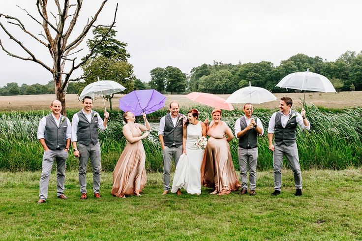 A Laidback and Lovely Rainy Day Wedding. Images by ELS Photography