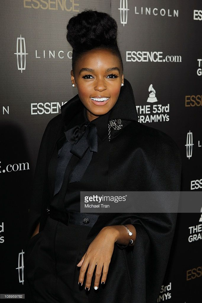 Janelle Monae arrives at the ESSENCE - 2nd Annual Black Women in music reception honoring Janelle Monae held at Playhouse Hollywood on February 9, 2011 in Los Angeles, California.