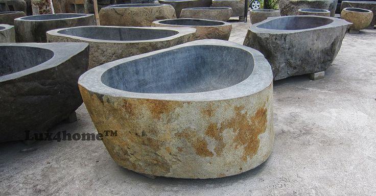 #Wanna z kamienia polnego Lux4home™. Wymiary wanny z kamienia dopasowane są do oczekiwań klienta, nawet jeśli jest to wanna z kamienia polnego. Waga wanny z kamienia polnego uzależniona jest o jej rozmiaru podobnie jak cena wanien kamiennych. Kamień polny charakteryzuje się tym, że zawsze jest inny. Zapraszamy do współpracy - wanna z kamienia cena uzależniona jest od jej wielkości i okresu zamówienia.  #wanny #kamiennawanna #kamien #wannastojaca #wannazkamienia #wannazkamieniapolnego…
