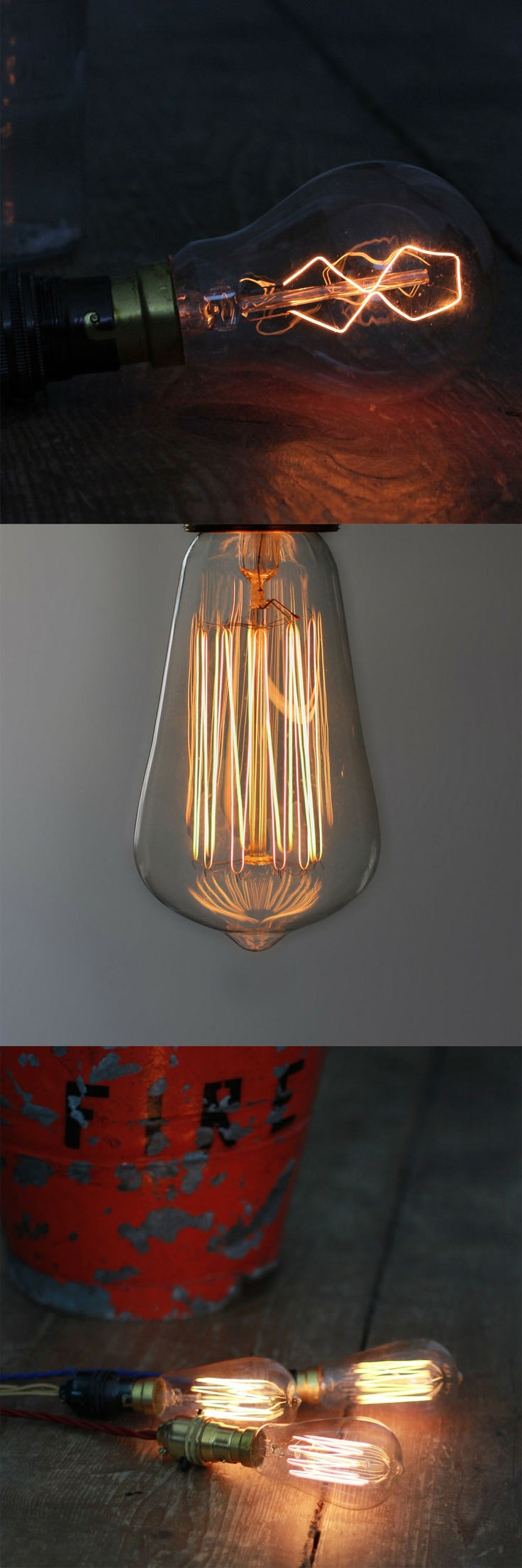 8-Point Filament / Small 19 Anchor Squirrel Cage Filament Bulb  By Hattie Hollins: Design Products, Ideas Sparkly, Hatti Hollin, Anchors Squirrels, Cages Filament, Squirrels Cages, Filament Bulbs, 19 Anchors