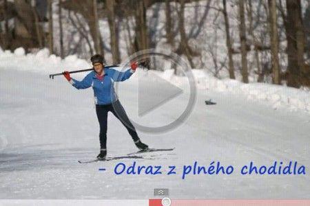 Video -  škola běžeckého lyžování: Nácvik bruslení - 2. díl