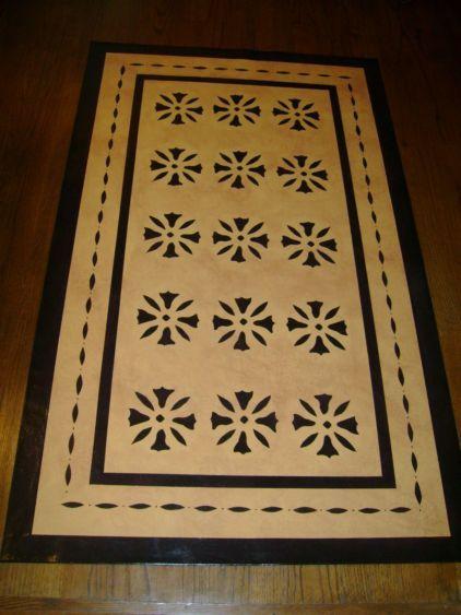 65 Best Images About Primitive Colonial Floorcloths On