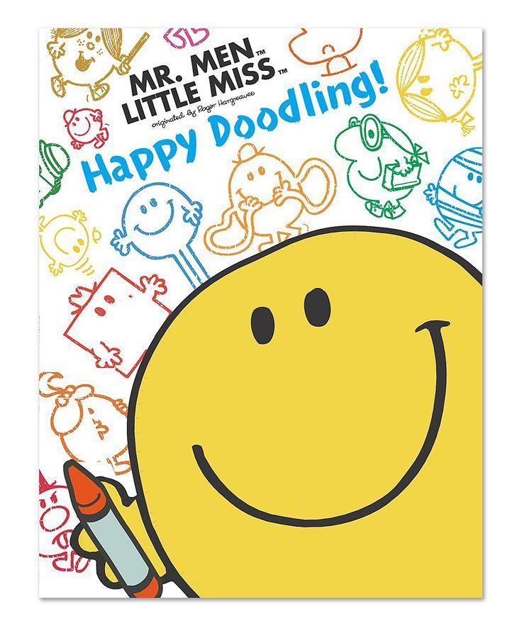 Mr. Men & Little Miss Happy Doodling Paperback