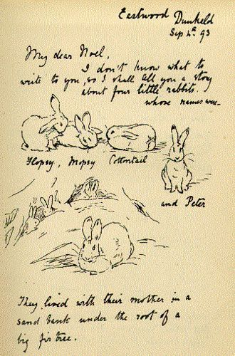 Had the pleasure of seeing Beatrix Potter's original rabbit studies and work in person. Absolutely enchanting and inspiring.