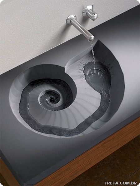Nautilus Shell Sink ... I think every KD house needs them! Maybe one day if I ever get a beach house!!!