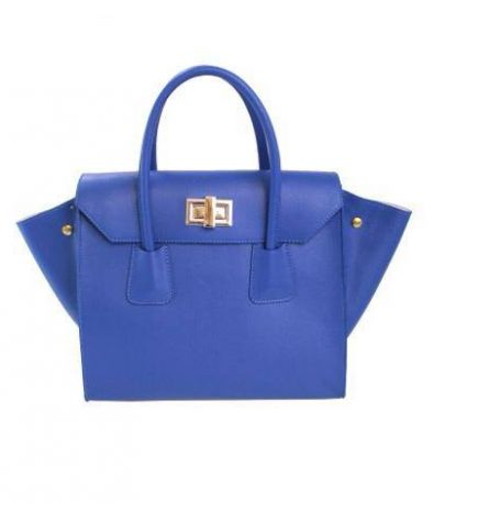Tote Bags : Top Handle Leather Handbag By Amica