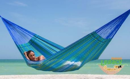 Caribe Mexican Nylon Hammocks by Mayan Legacy - outdoor furniture online Australia