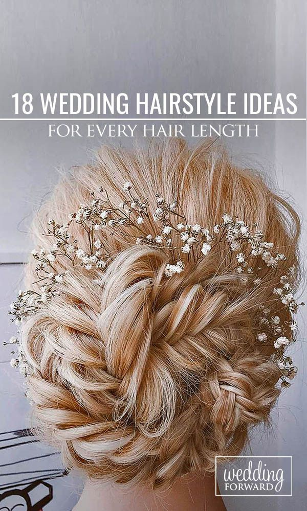 18 Wedding Hairstyles For Every Hair Length ❤ We collected for future Mrs some ideas of wedding hairstyles for every hair length. See more: http://www.weddingforward.com/wedding-hairstyles-every-hair-length/ #weddings #hairstyle Photo: Ulyana Aster via Instagram https://www.instagram.com/ulyana.aster/