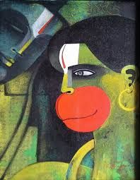Image result for hanuman painting