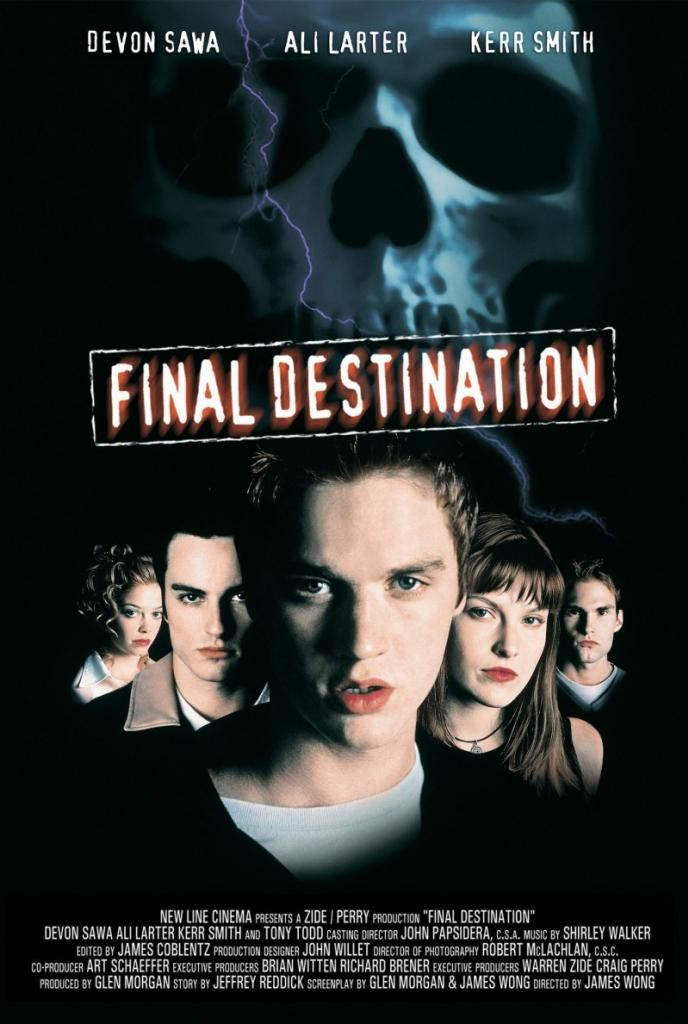 Final Destination. A fun scary horror movie for Halloween