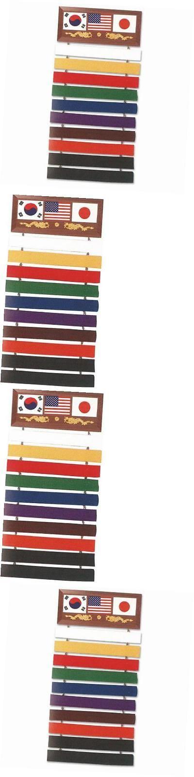 Belt Displays 179768: Se-007 10 Karate Belt Display Wood Rack -> BUY IT NOW ONLY: $31.14 on eBay!