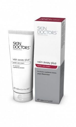 Skin Doctors Spider Vein Cream, Vein Away Plus, 3.5 oz (100 ml) >>> For more information, visit now : Face Cleansers Skin Care