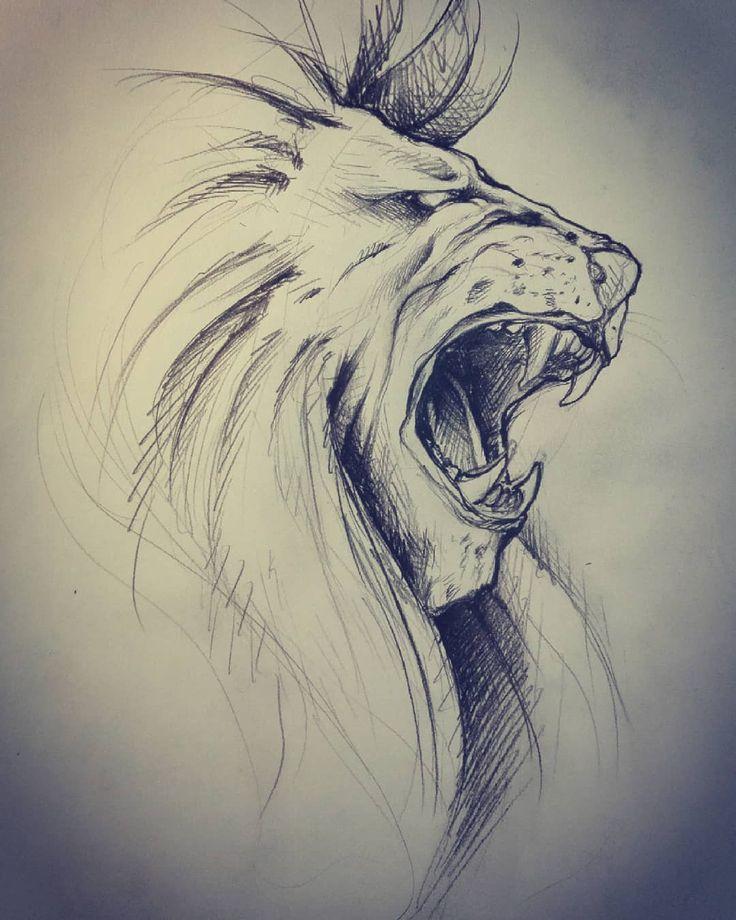 отпечаток поступает рисунки лев крутые полиморфно может