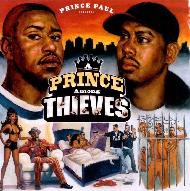 A Prince Among Thieves [PA] by Prince Paul (CD, Feb-1999, Tommy Boy) #UndergroundAlternative