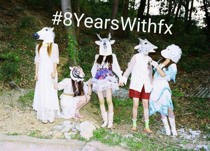 IT'S THE ANNIVERSARY OF THE QUEENS! #8YearsWithfx Electric Shock Era (2012) || f(x) Victoria Amber Luna Sulli Krystal