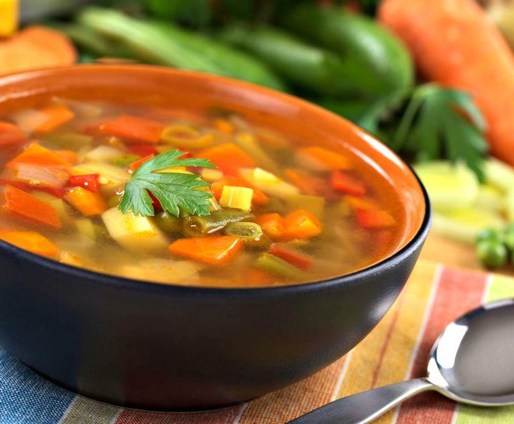 Ώρα για σούπα! Και τι καλύτερο από μία νόστιμη χορτόσουπα