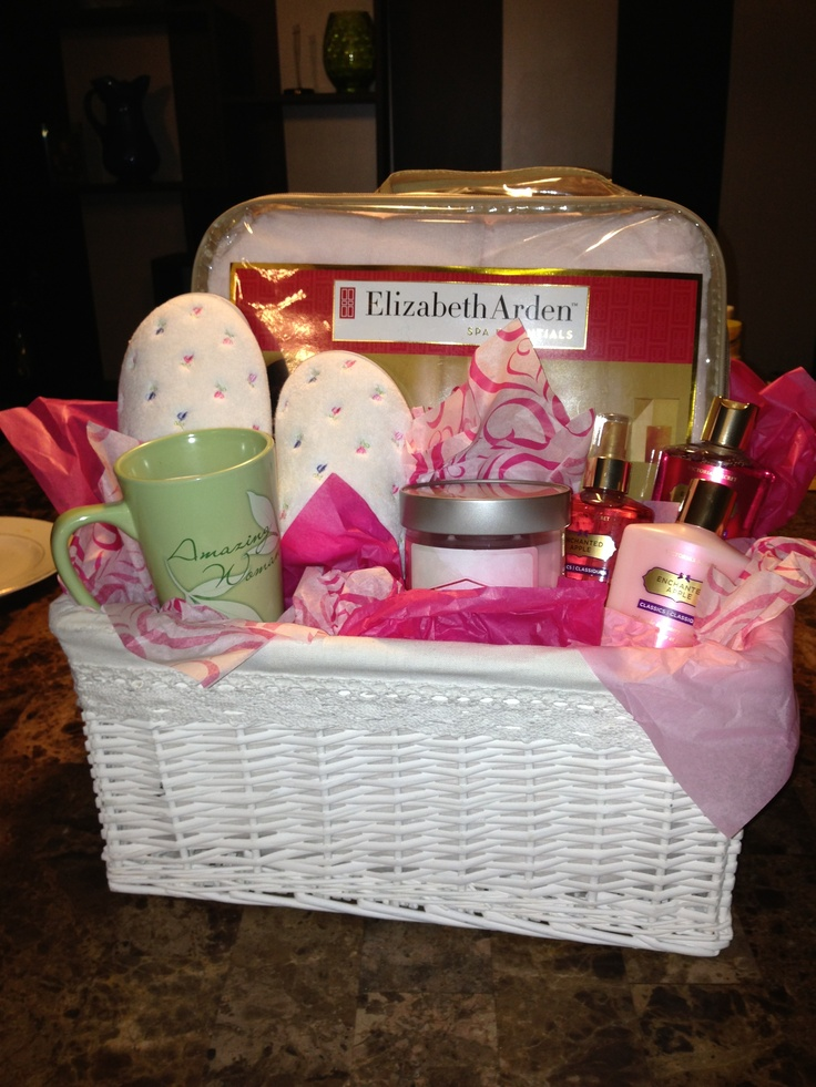 Mother S Day Gift Basket Mothers Day Pinterest