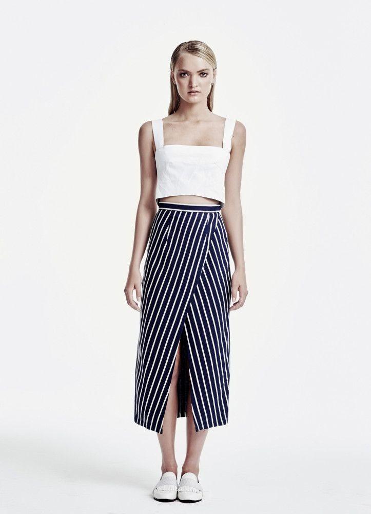 Sir The Label | Rena Crop Top & Eliot Skirt | elliawear.com