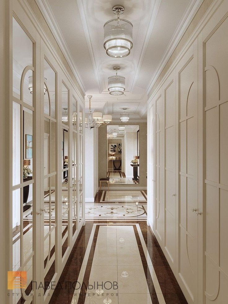 Фото интерьер холла из проекта «Дизайн четырехкомнатной квартиры в стиле Ар-деко, ЖК Привилегия, 172 кв.м.»