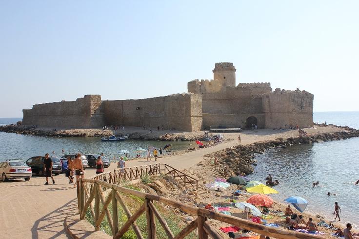 Ancient Aragon castle