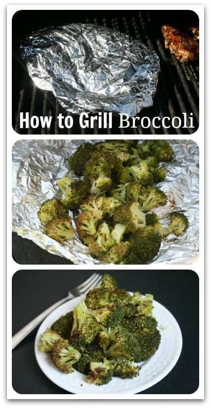 grilled brocoli Collage