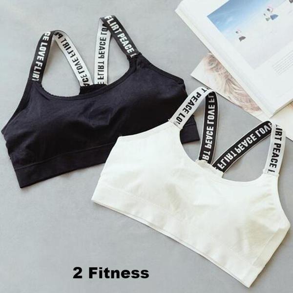 Women Fitness Bra- Women's Gym Workout Crop Tops