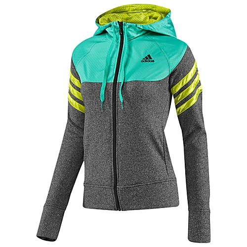Make me want to cold weather run!    adidas Beautiful Warrior Jacket