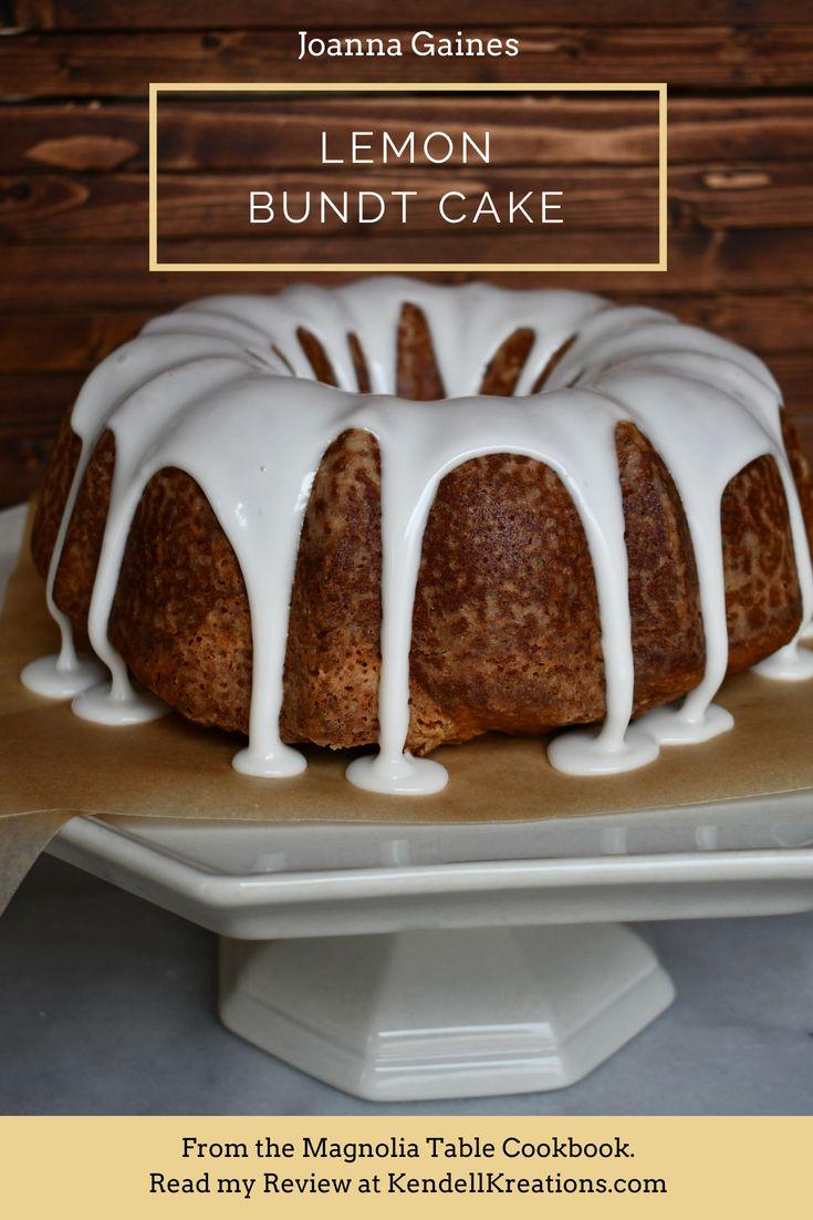 Lemon Bundt Cake Perfect Flavor Balance With Images Lemon