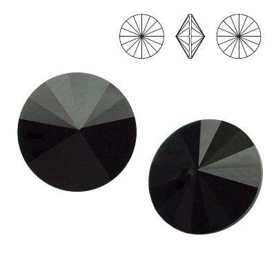 1122 Rivoli SS39 Jet 2pcs  Dimensions: diameter 8,16-8,41 mm Colour: Jet 1 package = 2 pieces