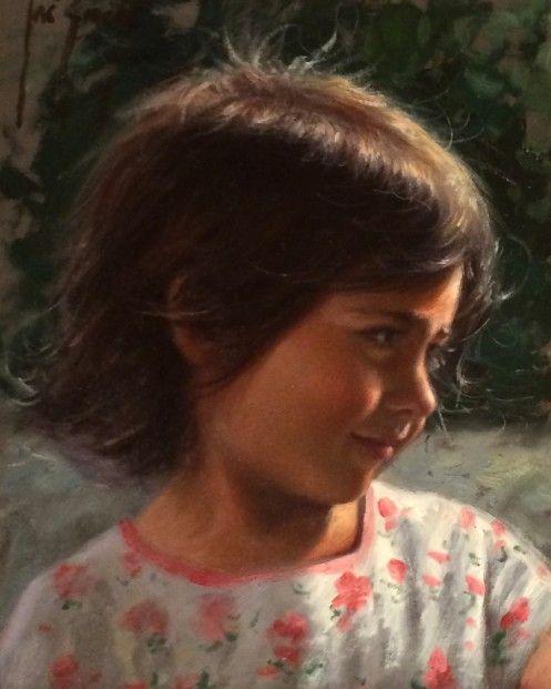 Jose Borrell_Innocence I_Oils_10x8.25   Contemporary Art