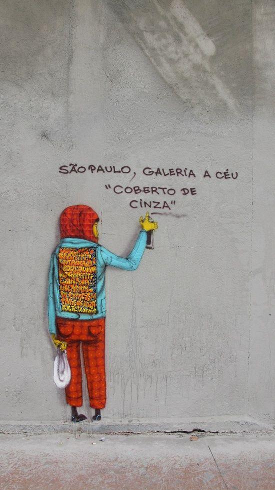 Artist: Os Gemeos in São Paulo