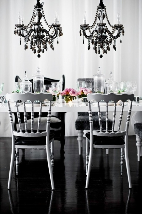 1000 Images About Shabby Chic Black White On Pinterest