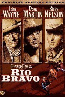 Rio Bravo (1959) - Starring John Wayne, Dean Martin, Ricky Nelson, and Angie Dickinson