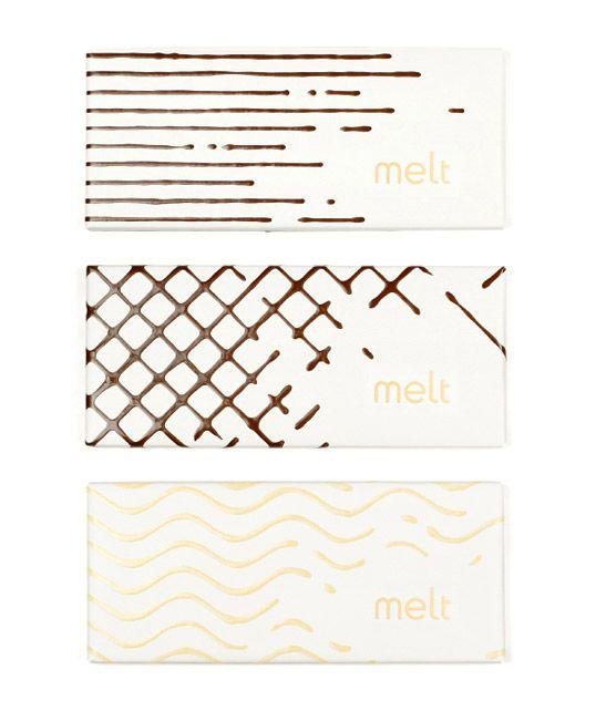 Diseño de empaque para tienda de chocolate gourmet *http://www.jjaakk.com/#/work-detail/melt