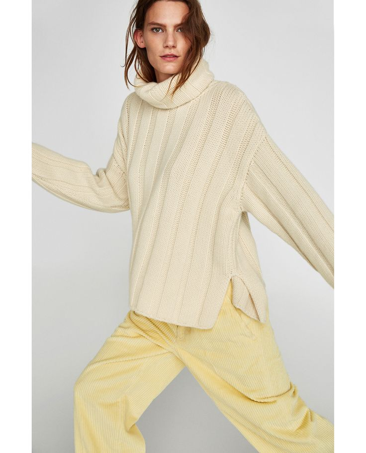 Image 6 of CASHMERE ROLL NECK SWEATER from Zara