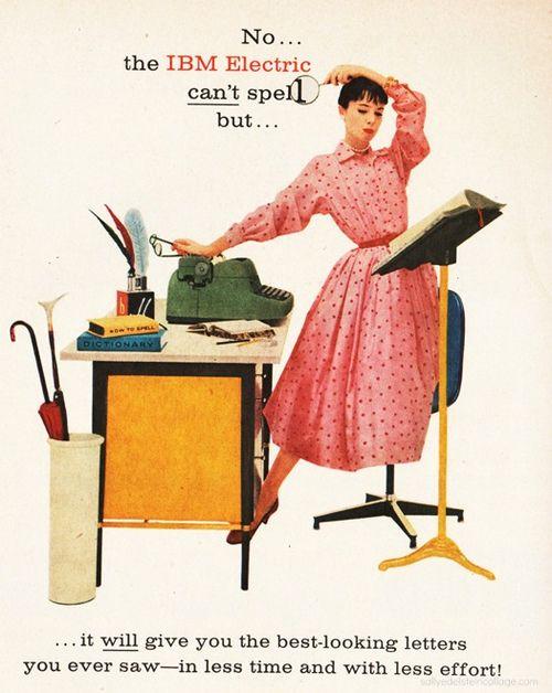 IBM Electric Typewriter Ad