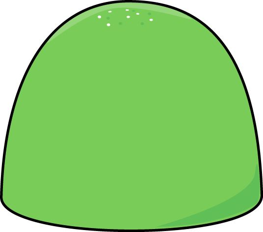 Green Christmas Gum Drop | Teacher's CLIP ART and ...