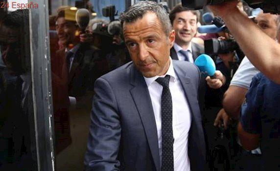Jorge Mendes acude a declarar por el presunto fraude fiscal de Falcao
