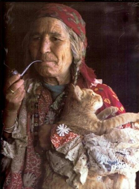 Roma gypsy woman