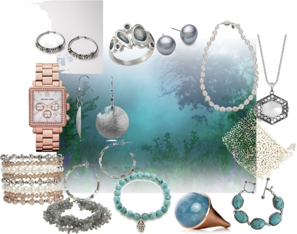 """Soft Summer jewellery"" by gracekellyssu ❤ liked on Polyvore"