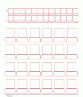 Guess Who Game Sheet Templates | MaeLyn's Big Adventure - I'd like to use this to teach notable figures like presidents/artists/missionaries/etc