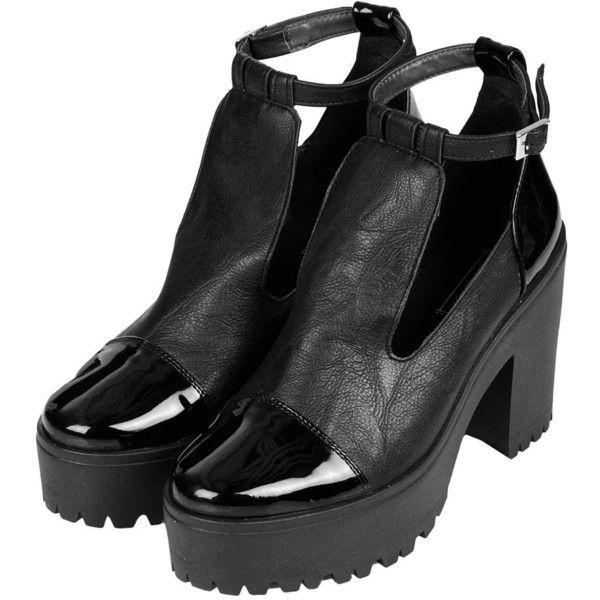 Topshop - Vêtements femme   Tendances mode femme ($65) ❤ liked on Polyvore featuring shoes, boots, ankle booties, heels, topshop, heeled boots, heeled booties, heeled ankle booties, topshop boots and topshop booties
