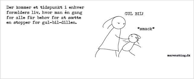 """gul-bil"" - covers til facebook - www.marensblog.dk"