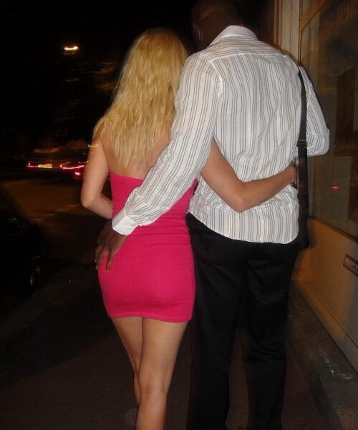 Interracial white wife meets black lover on